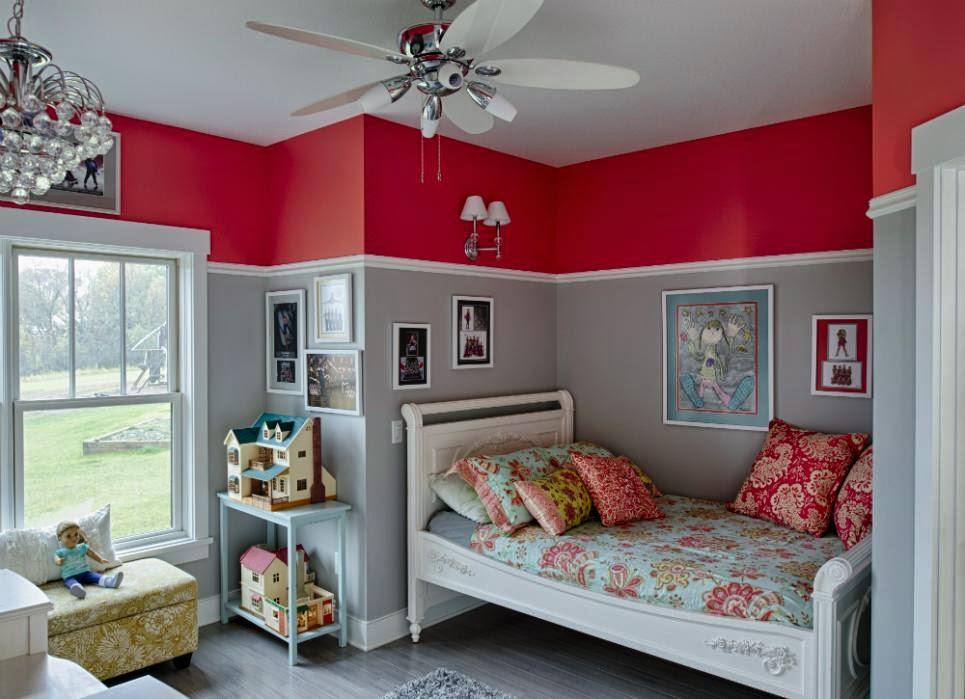 Kamar Tidur Anak yang Indah Dan Hidup Dengan Beberapa Varian Desain Interior Terpopuler