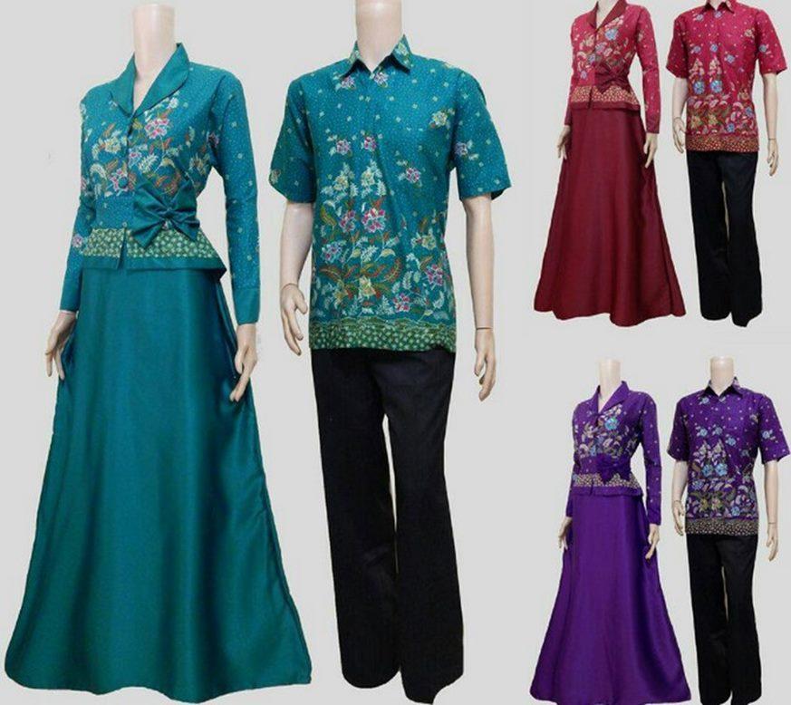 Long Dress Batik yang Sangat Cantik dan Kekinian