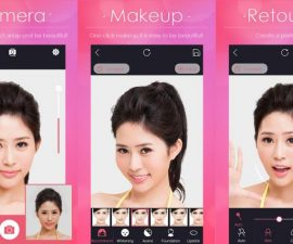 2. Aplikasi MakeUp Wajah Iphone Android