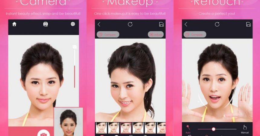 2. Aplikasi MakeUp Wajah Iphone Android