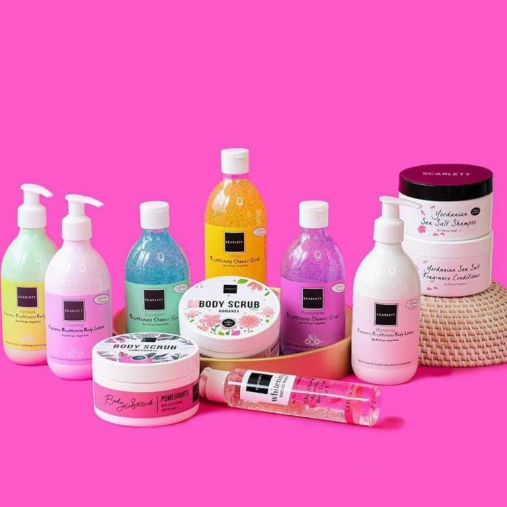 4 Rekomendasi Produk Body Care dari Scarlett Whitening